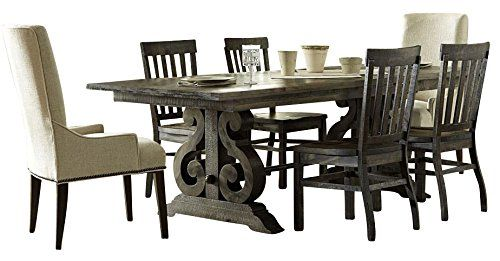 Magnussen Bellamy Casual Dining Room Set With 2 X Table And 2 X Chair Casual Dining Room Set Casual Dining Rooms Table
