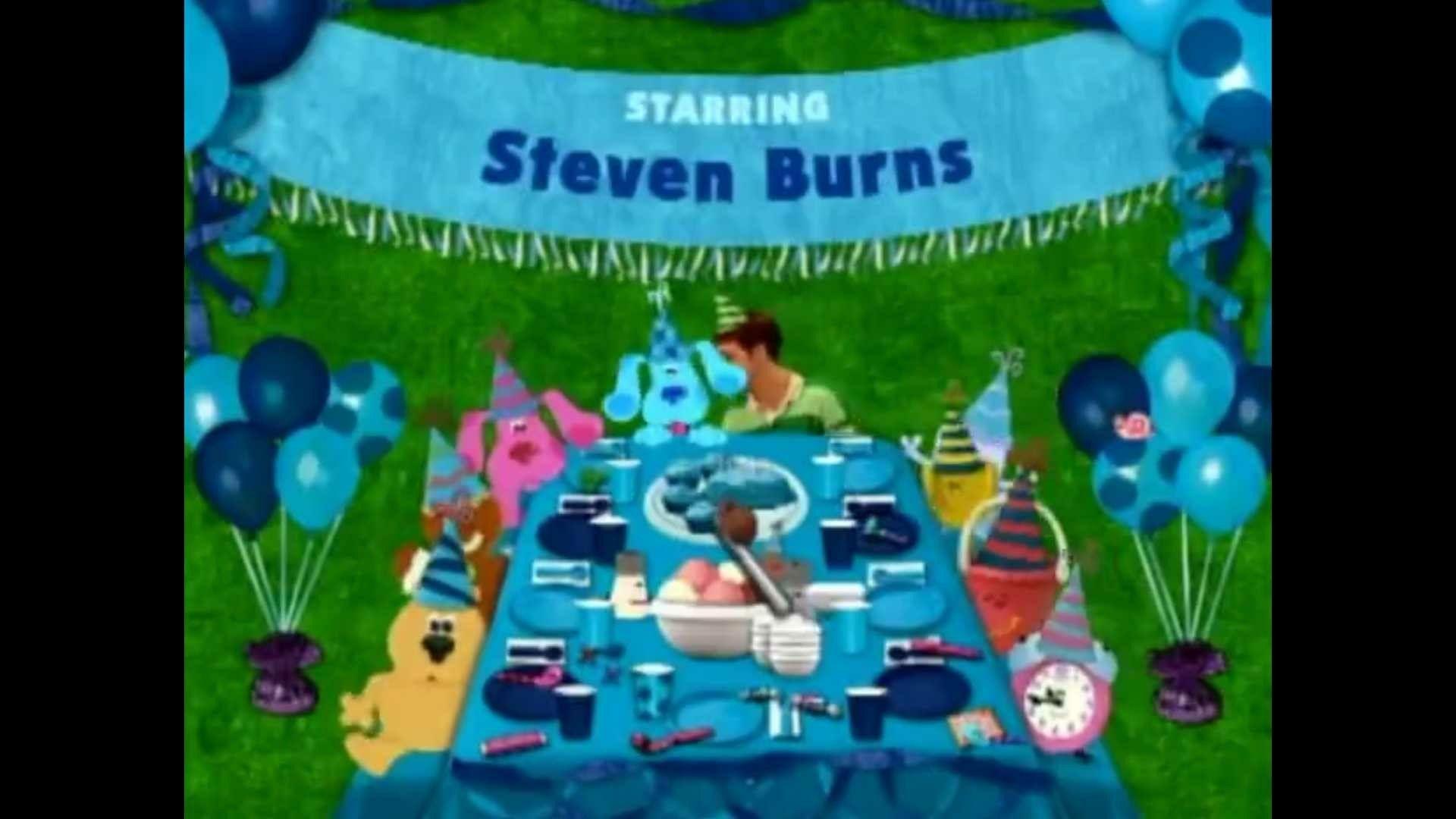Blues Clues Blues Birthday Credits Blues Clues Big Blue And
