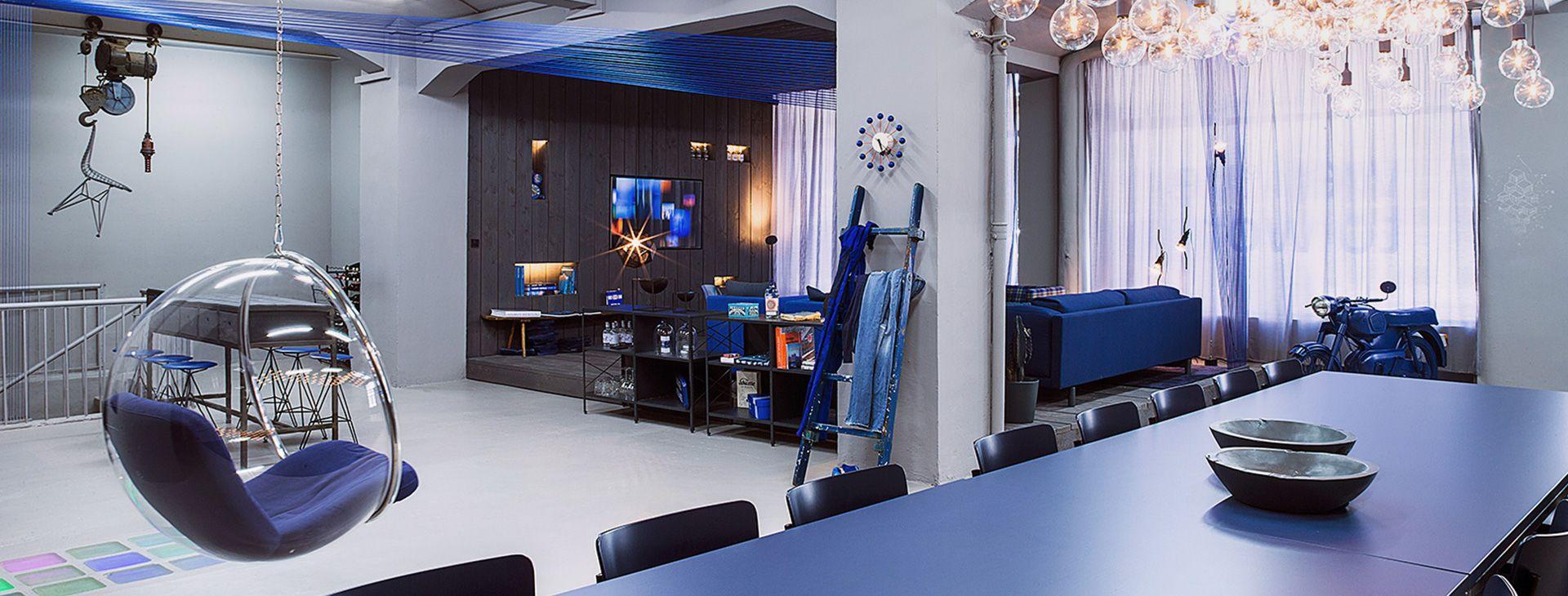 Punct Object Hamburg kreative konzentration | die blue room | places hamburg von punct