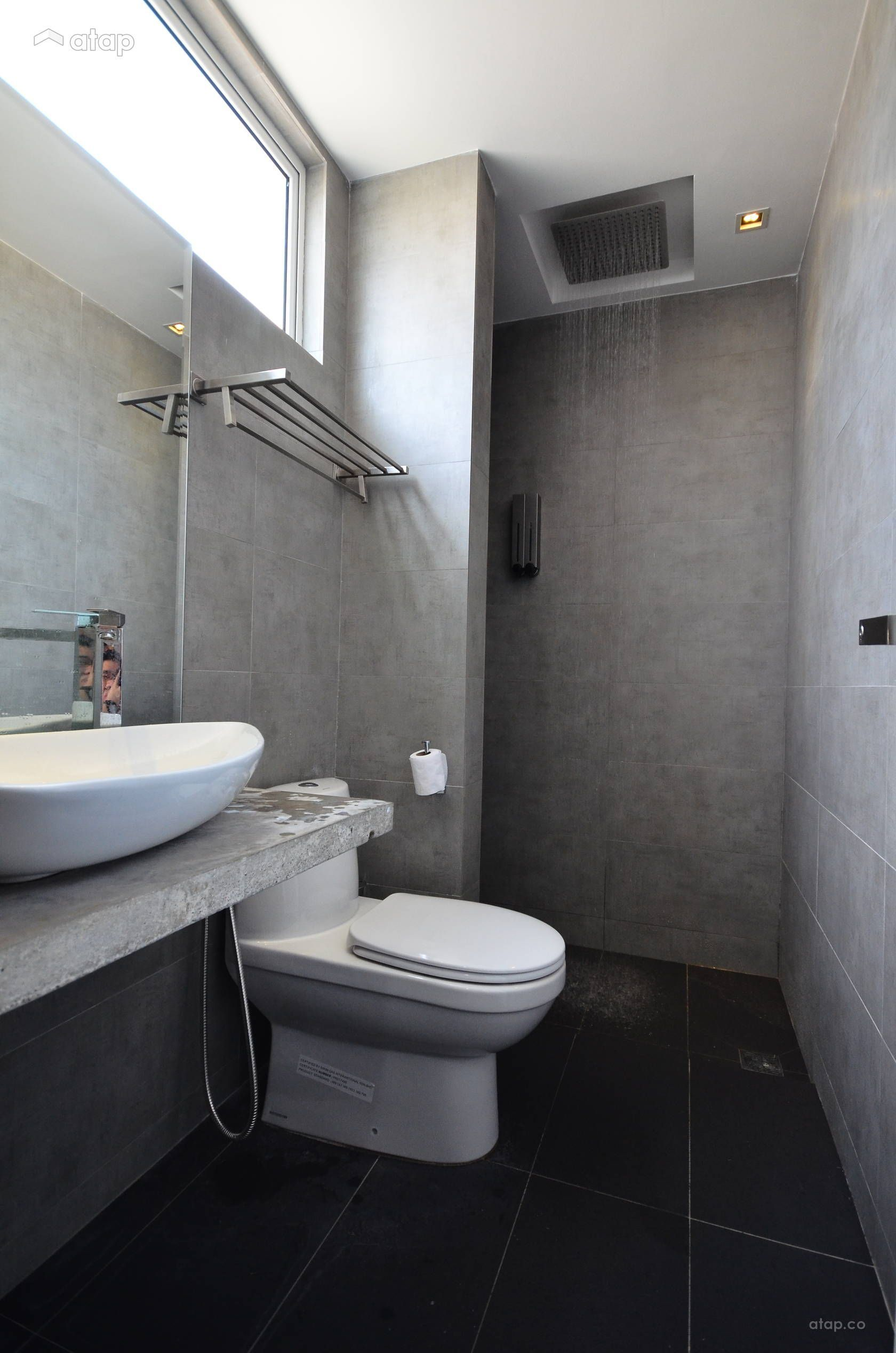 Modern Bathroom Condominium Design Ideas Photos Malaysia Atap Co Bathroomdesignmalaysia Small Bathroom Renovations Simple Bathroom Designs Simple Bathroom