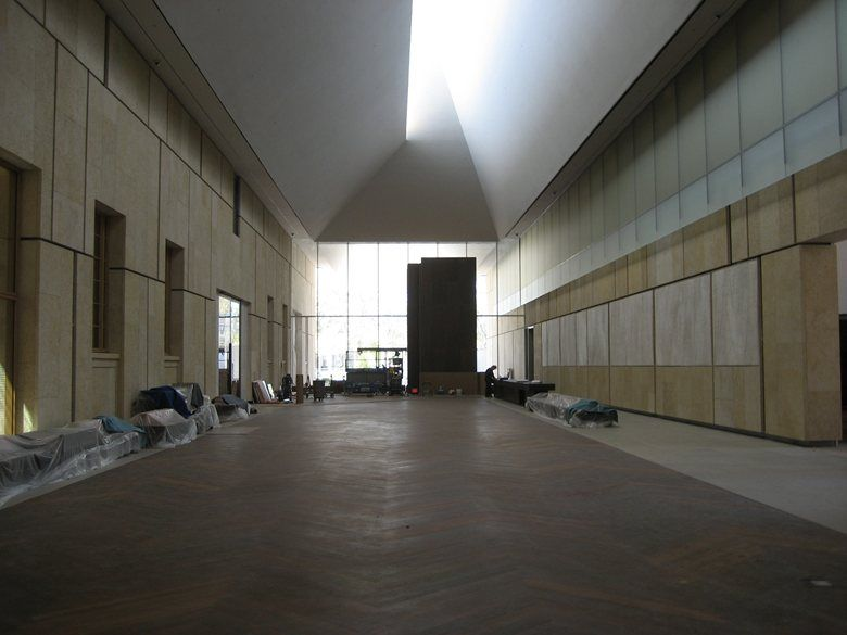 Barnes Foundation, Philadelphia, 2012 - Studio Claudy Jongstra, Tod Williams Billie Tsien Architects