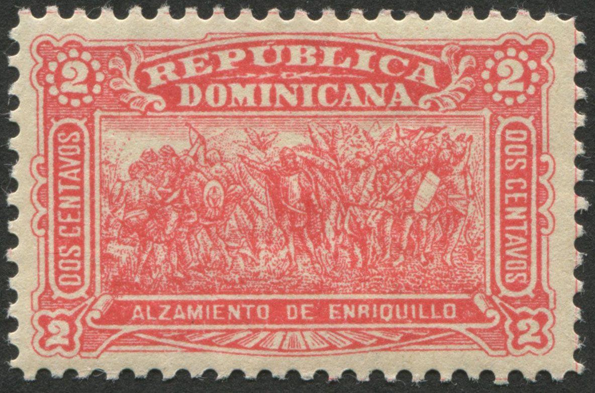 Perforate single Dominican Republic Scott 102 27