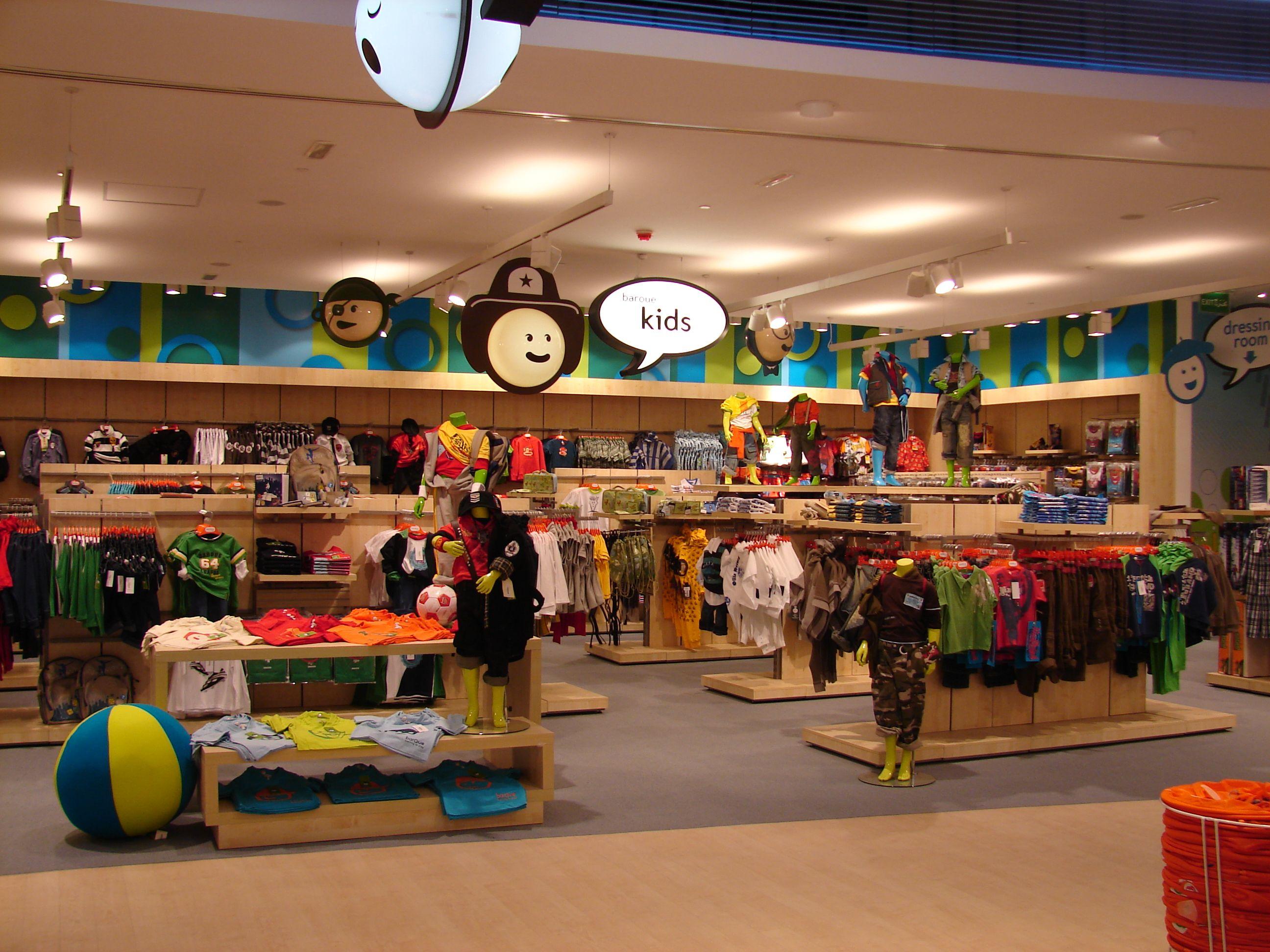 Baroue Kuwait Kids Retail Colourful Upmarket Layout
