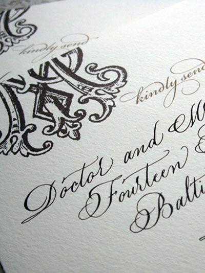 Calligraphy Calligraphy Letterpress Luv Pinterest