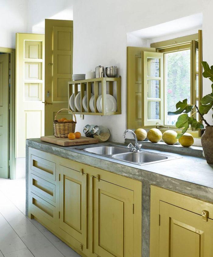 1001 ideas para organizar las cocinas peque as cocina for Estantes para cocina pequena