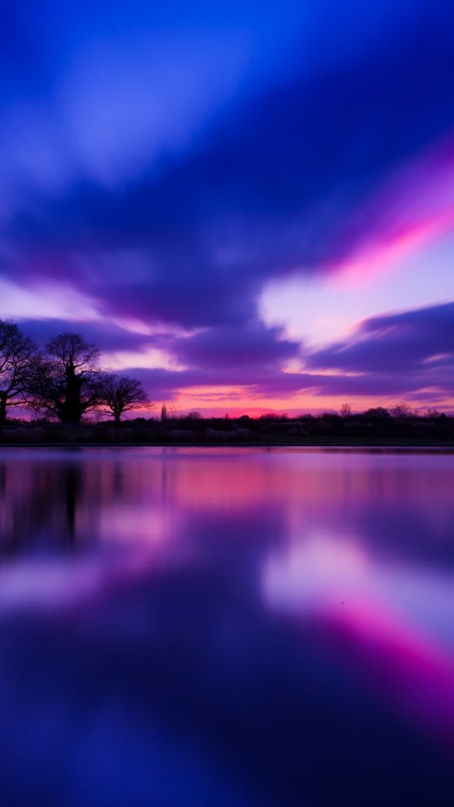 Purple Sunset iPhone 5s Wallpaper Download more in