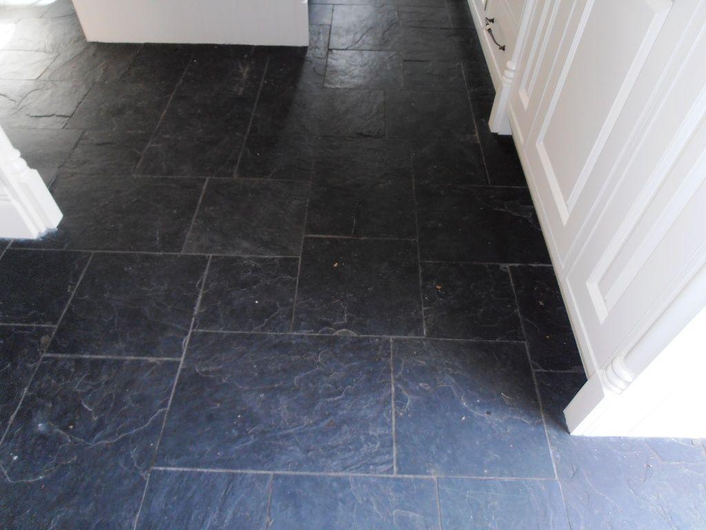 Slate tile in kitchen slate floor tiles kitchen tired black slate tile in kitchen slate floor tiles kitchen tired black slate tiled floor in sevenoaks doublecrazyfo Images
