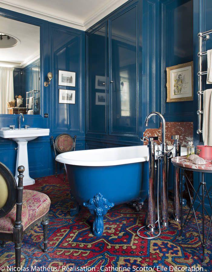 Un Appartement Entre Esprit Grand Siècle Et Design Des 70's Elle