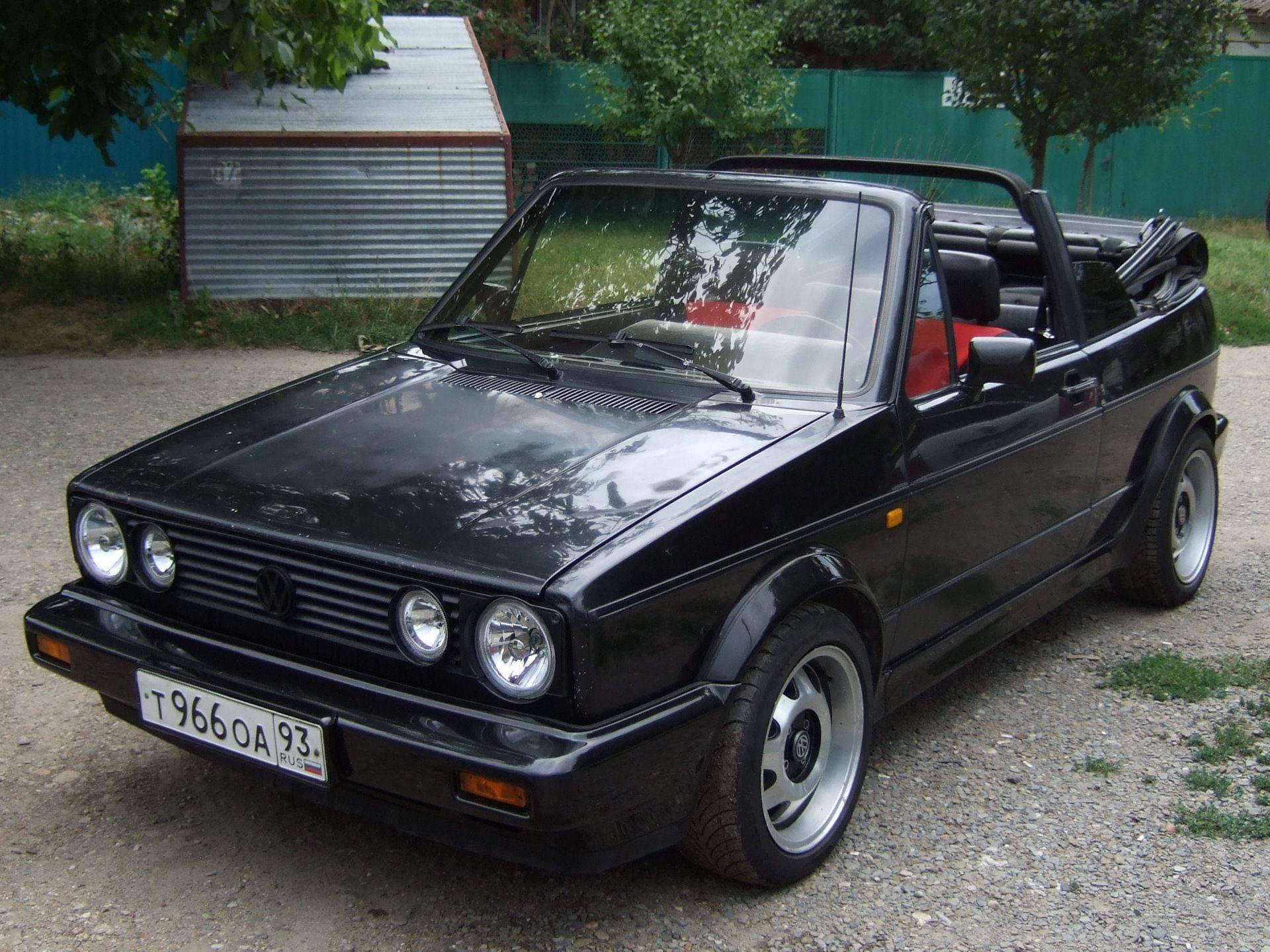 Volkswagen Golf Mk2 Cabrio Volkswagen Golf Mk2 Volkswagen Golf Mk2