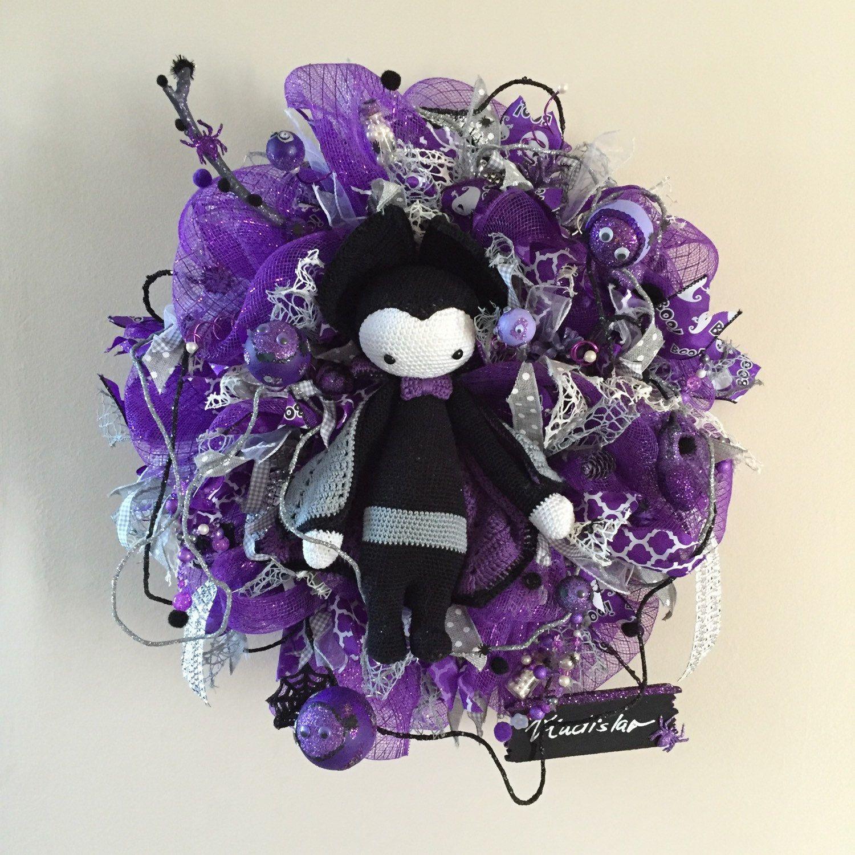 Embellishments Halloween Wreath