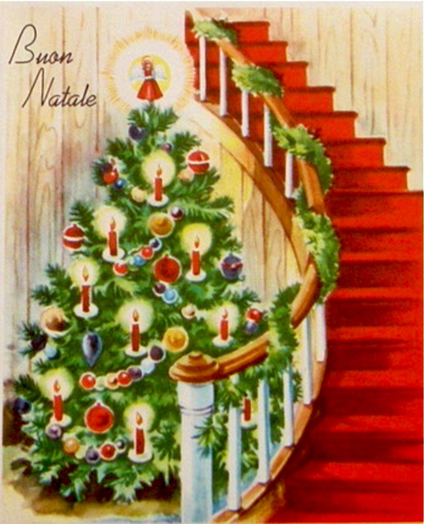 Merry Christmas Postals Nadalenques Vintage Pinterest Merry