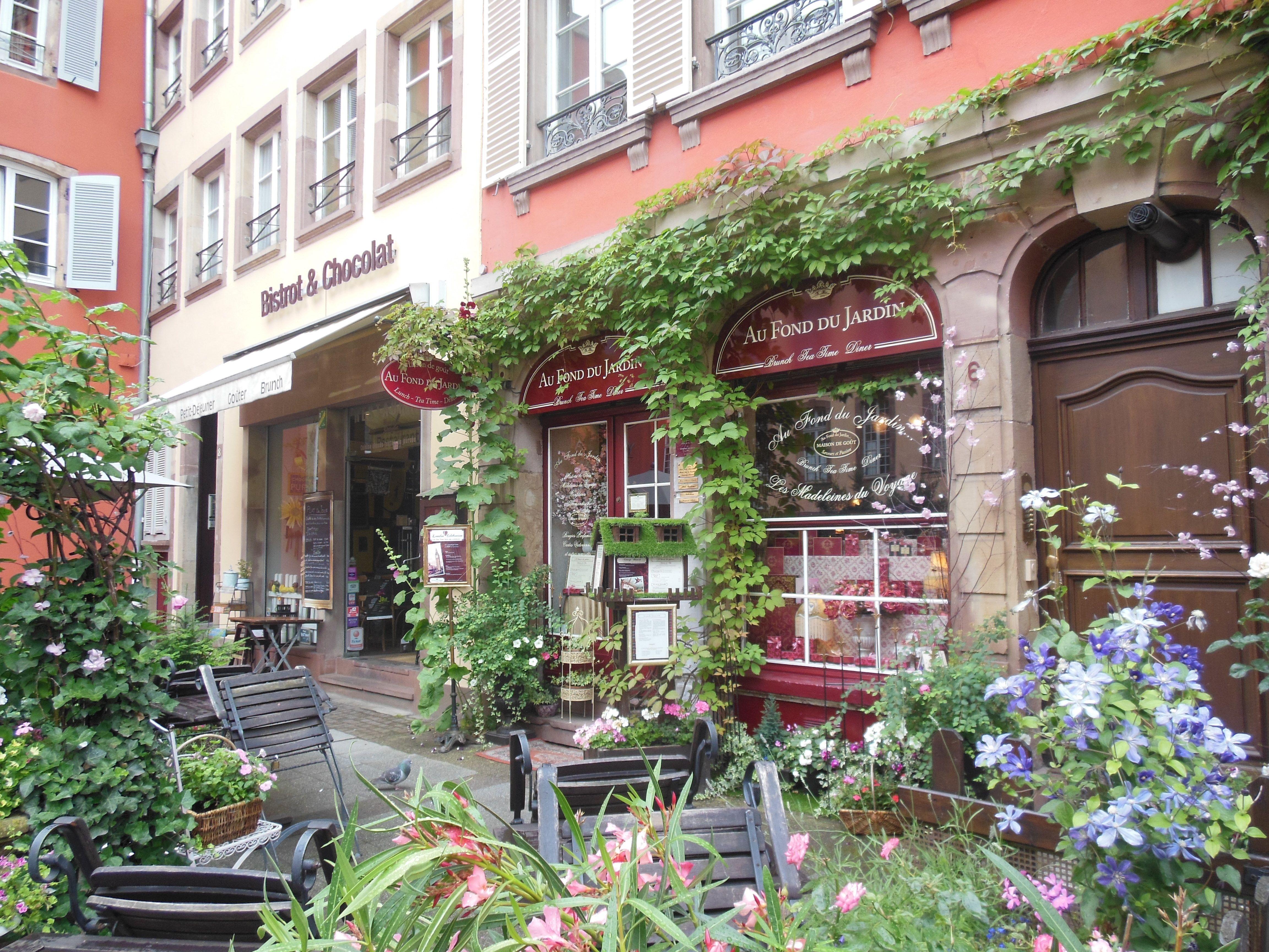 Au Fond du Jardin the most English tea house in Strasbourg lnm