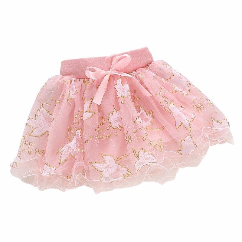 e9ac451a3 Niñas pettiskirt del bebé faldas del tutú rosa de tul puffy faldas ...