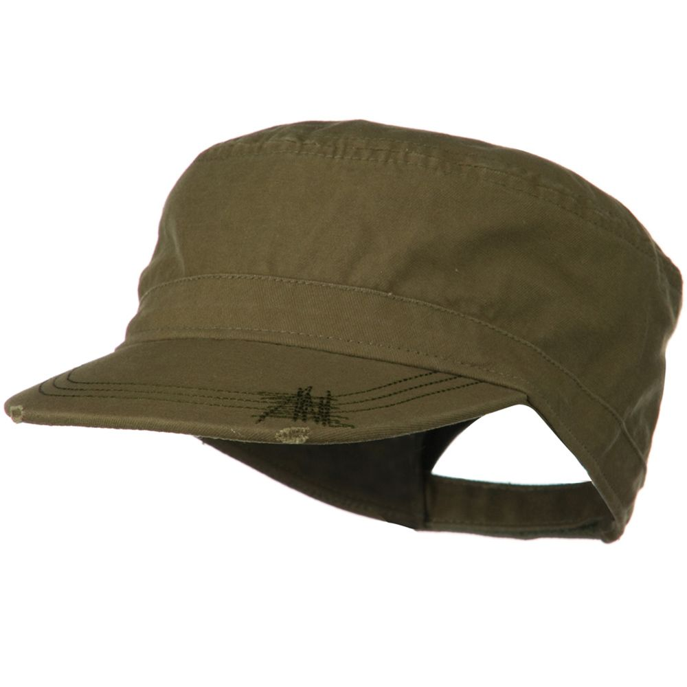 Deluxe Washed Chino Cotton Surplus Cap - Olive   hats   Pinterest ...