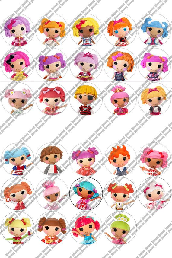 31 Image Lalaloopsy Doll Inspired 1 inch by InfiniteExpressions ...