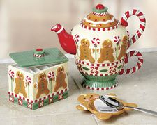 Mary Engelbreit, love the tea for one, cup teapot set.