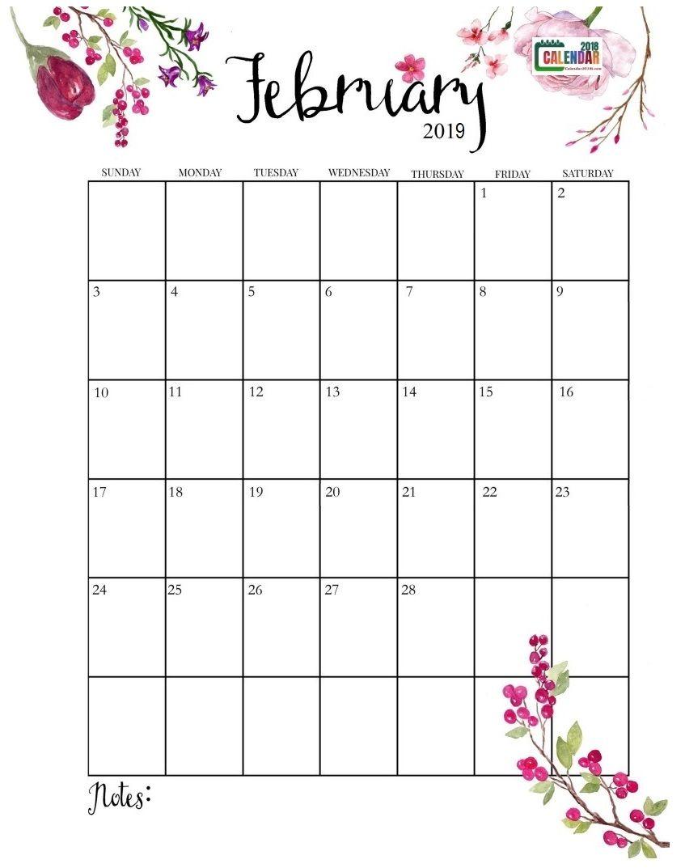 Download Latest February 2019 Calendar Designs February Calendar