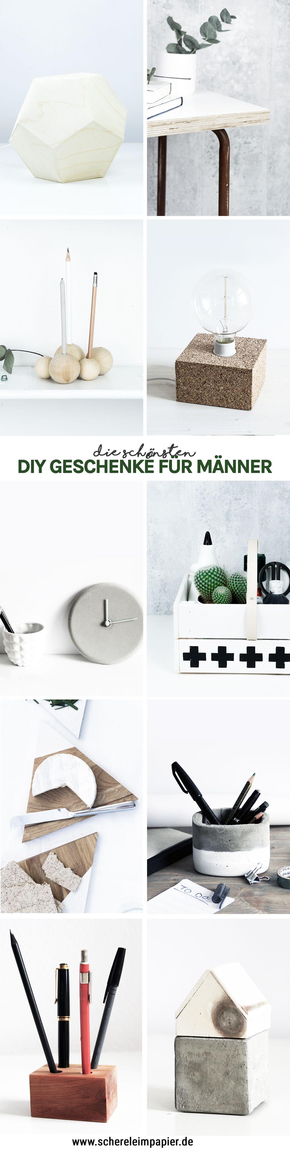 DIY Geschenke für Männer selber machen - 10 kreative Ideen ...