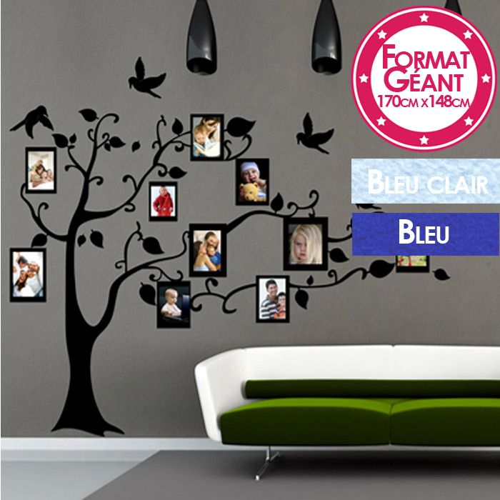 Stickers arbre grand format my blog - Sticker mural grand format ...