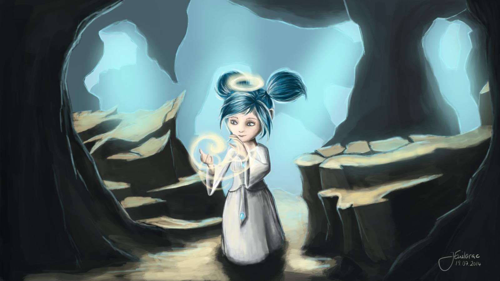 Gweni The Light Of Dawn Gnome Priestess By Jenilorac Deviantart