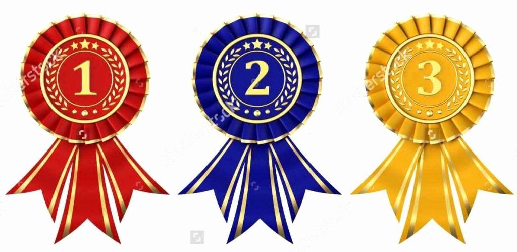 30 Printable 1st 2nd 3rd Place Ribbons in 2020 | Free ...
