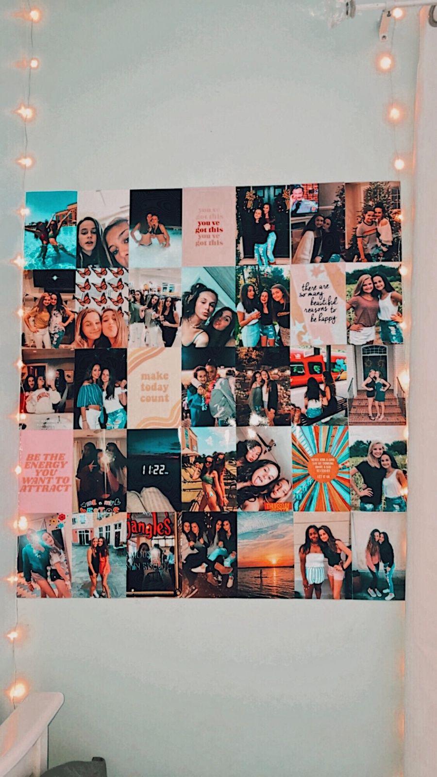 Pinterest Loveglo3 Cute Room Decor Wall Collage Photo Walls Bedroom