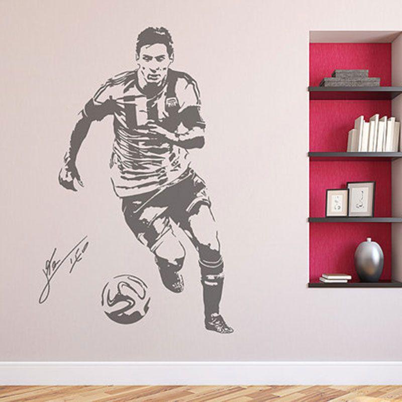 Messi 10 Barcelona FC football Club team Wall Art Sticker vinyl Decal Mural