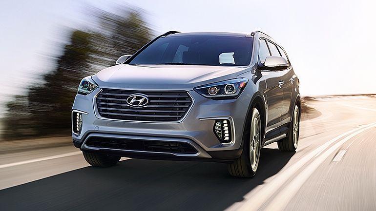 Best 6 Passenger Vehicles Passenger Vehicle Hyundai Santa Fe Hyundai