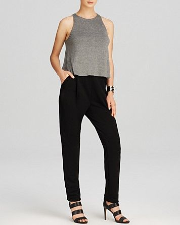 Allen Schwartz Jumpsuit, very beautiful I really do love this. very expensive but it doesn't hurt to dream right?