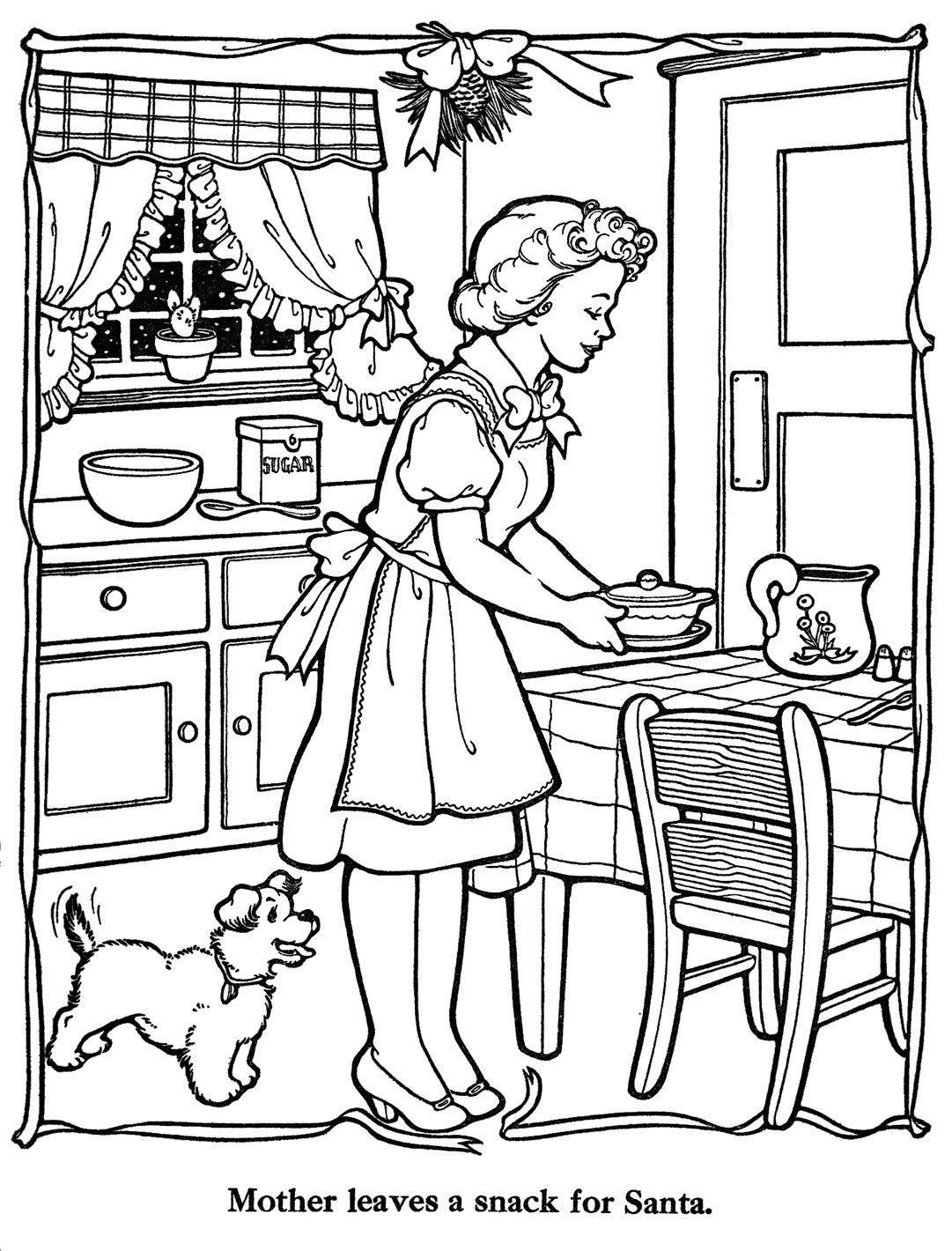 Blog Archive Countdown To Christmas 2 Days Coloring Pages Vintage Coloring Books Christmas Coloring Pages