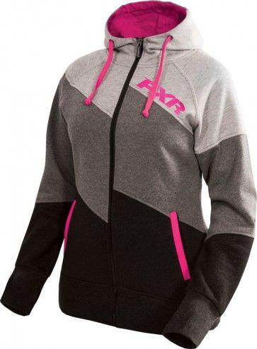 FXR Racing Rise Zip Up Jacket Sweatshirt Womens Hoodies  69b92c64e