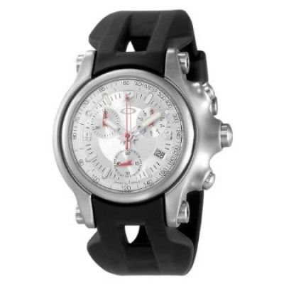 445b1bd1f4e Relógio Oakley Men s 10-216 Holeshot Unobtainium Strap Edition Chronograph  Rubber Watch  Relógio  Oakley