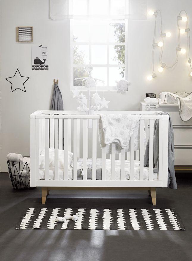 2 Delige Babykamer.De Witte Meubels In Scandinavische Stijl Van Troll S 3 Delige