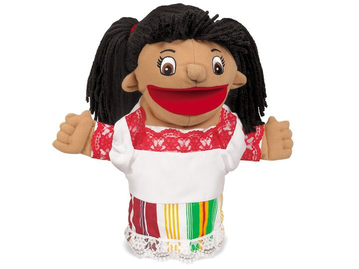 Let's Talk! Mexican Girl Puppet