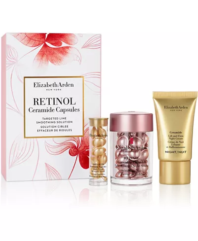 Elizabeth Arden 3 Pc Retinol Ceramide Skincare Gift Set Reviews Beauty Gift Sets Beauty Macy S Skincare Gift Set Skin Care Gifts Retinol