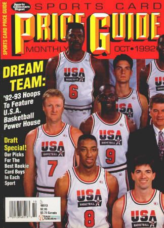 Sports Card Price Guide Monthly 55 October 1992 Vf Nm Usa