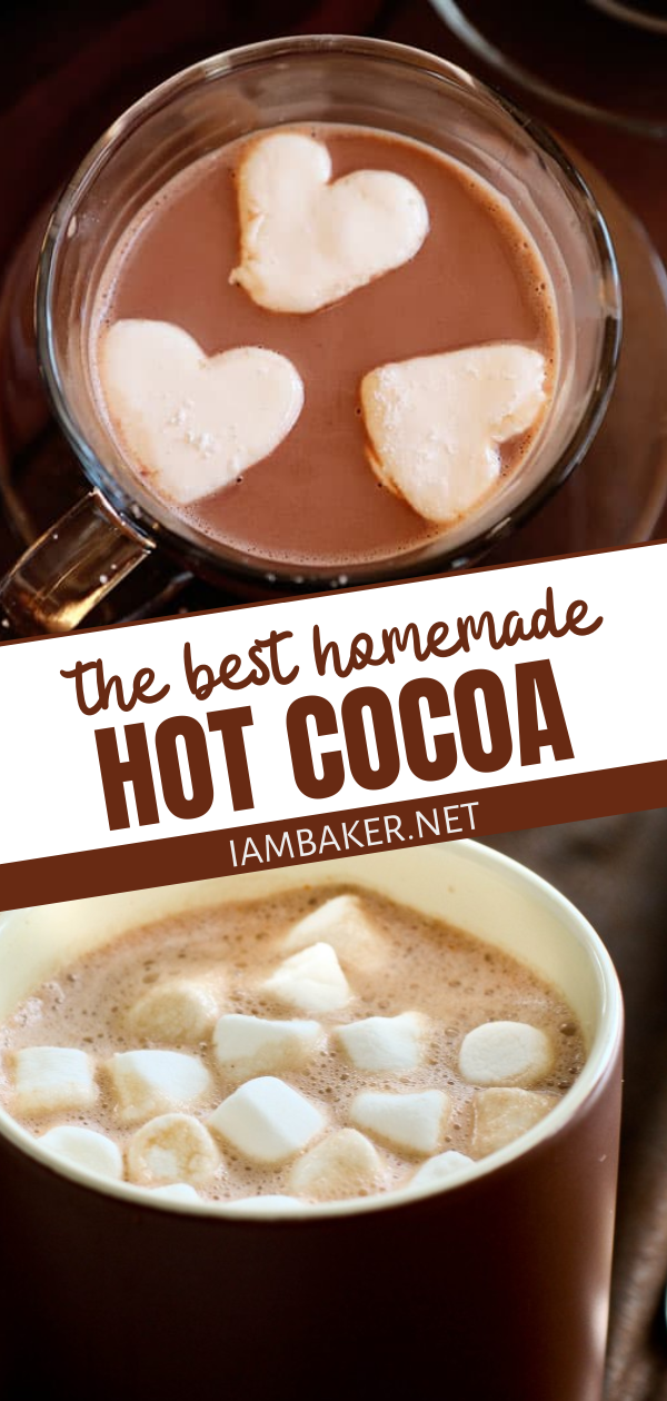 The Most Flavorful Homemade Hot Chocolate Hot Chocolate Recipes Homemade Hot Chocolate Hot Chocolate Recipe Homemade