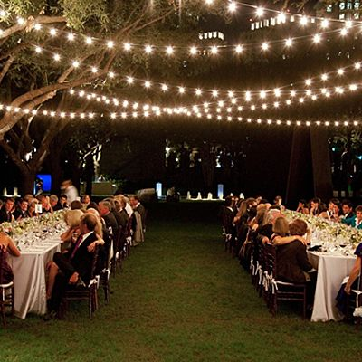 string lights outside | dining & entertaining | Pinterest ...