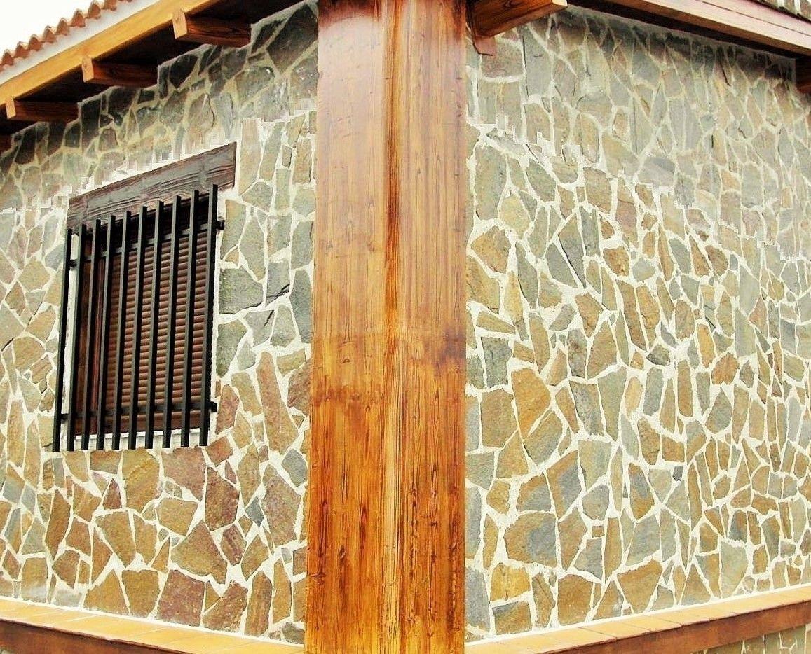 Acabado piedra casas prefabricadas de hormigon Qcasa www ...
