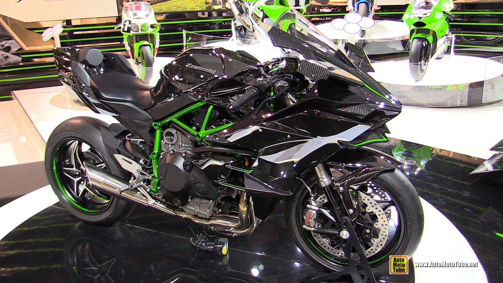2015 Kawasaki Ninja H2 R Super Charged Walkaround Debut At 2014