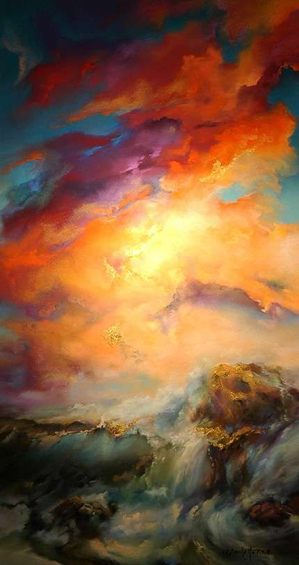 L. A. Frechette Fine Art Gallery - Soft Pastels, Oils, Seascapes - The Art | Pastels in 2019 ...