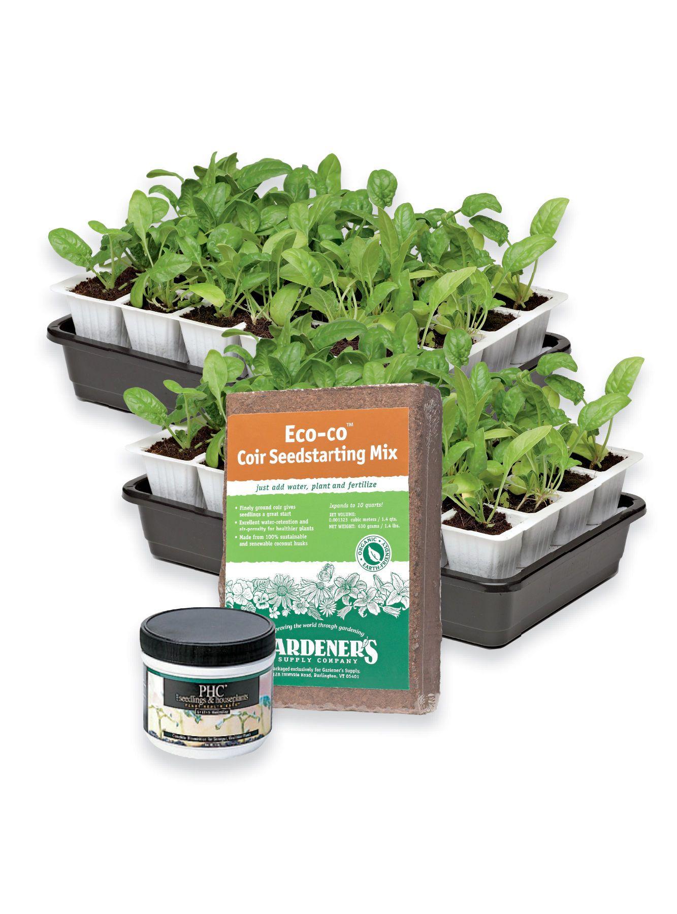 Fast Start Success Kit Gardener S Supply Company Seed Starter Kit Garden Supplies Seed Starter Backyard garden starter kit
