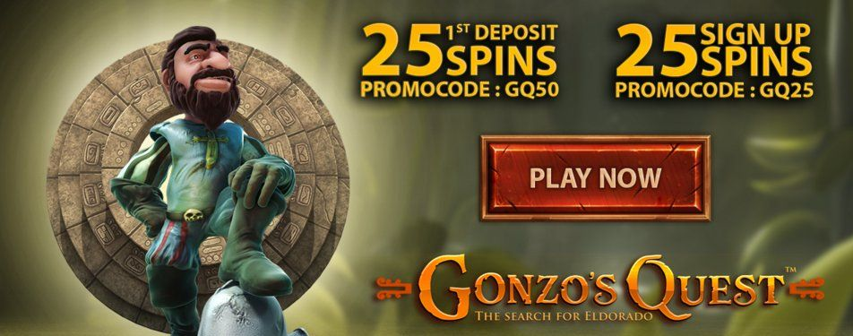 Gonzo S Quest 25 Free Spins With Images Gonzos Quest Gonzo