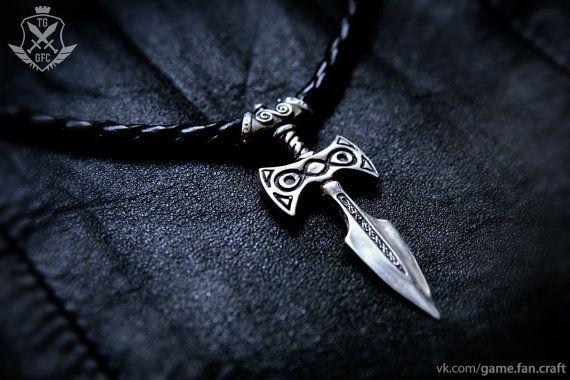 Amulet of Talos, Fantasy jewelry, LARP Pendant, Necklace Jewelry