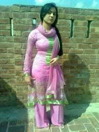 tits in salwar Big
