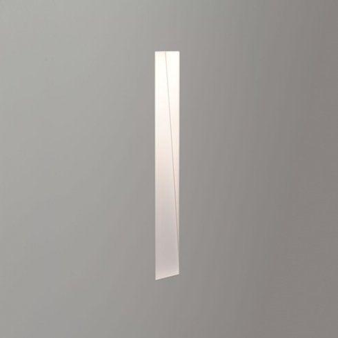 Astro lighting borgo 200 trimless single led recessed light in white finish