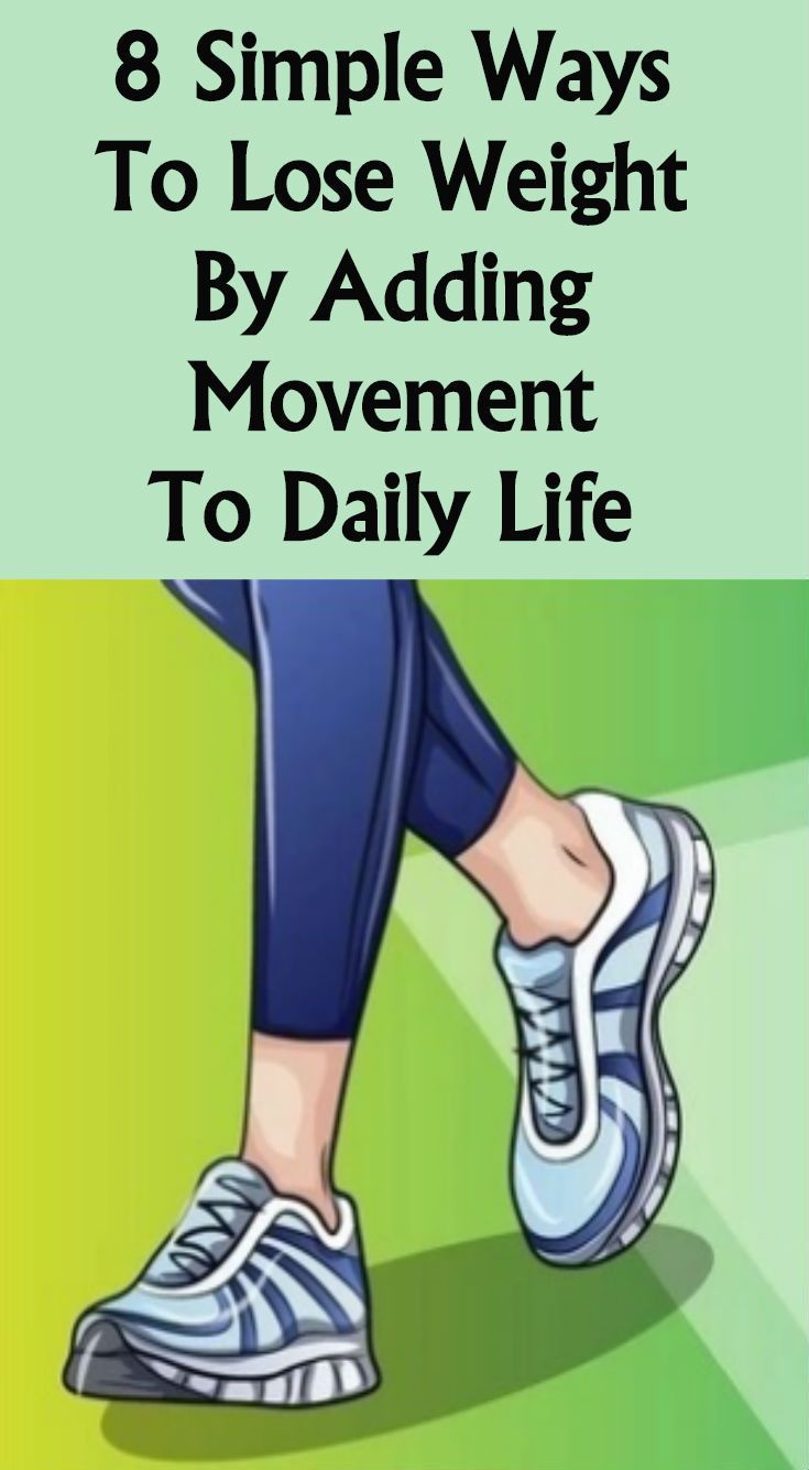 #lifehacks #movement #fitness #simple #weight #adding #daily #here #ways #lose #life #are #to #by #8...