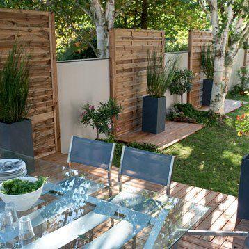 Dalle Lumo En Bois L 100 Cm X Larg 100 Cm X Ep 40 Mm Terrasse Jardin Jardins Separation Jardin