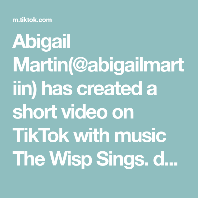 Abigail Martin Abigailmartiin Has Created A Short Video On Tiktok With Music The Wisp Sings Do It Even Ice Cream F Pep Talks Spooky Treats Do What You Want