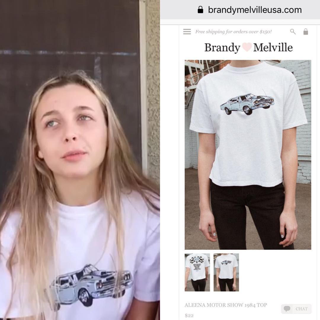 Youth Fashion Tops Boys and Girls Emma ChamB-erlain T-Shirts